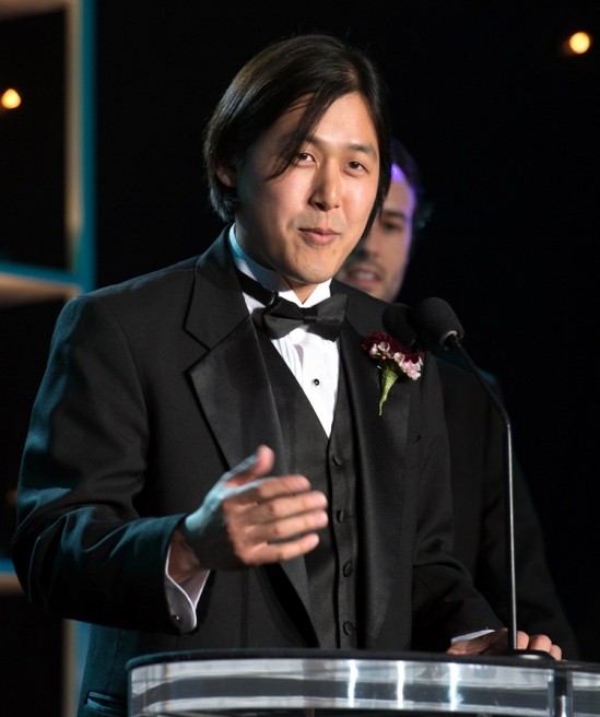 Theodore Kim at Academy Awards