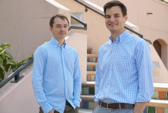 UCSB associate professors Nathaniel Caig and Matt Helgeson