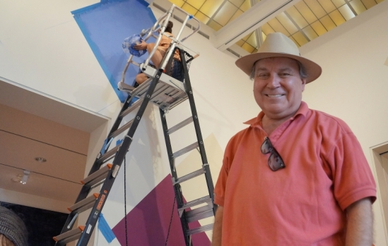 UCSB Art, Design & Architecture Museum artist-in-residence Stephen Westfall