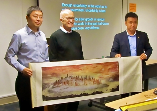 Academics from Chongquing University visit UCSB