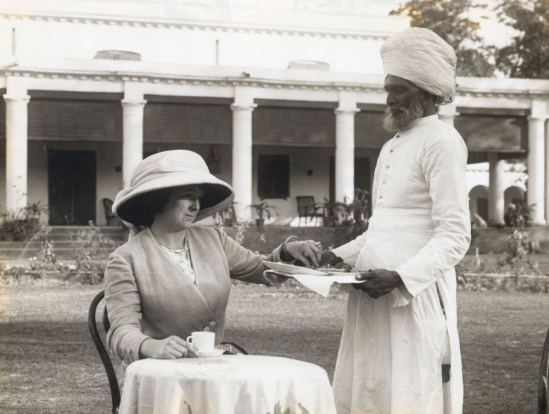 British Empire, India, tea