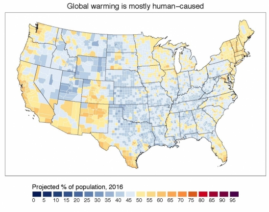 Climate Beliefs, Quantified | The UCSB Current