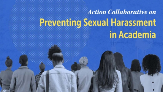 UC Santa Barbara joins a collaborative effort sponsored by the National Academies of Sciences, Engineering and medicine to address sexual harassment in higher education