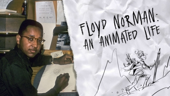 A documentary about Floyd Norman, Disney's first African-American animator, screens at the Pollock Theater