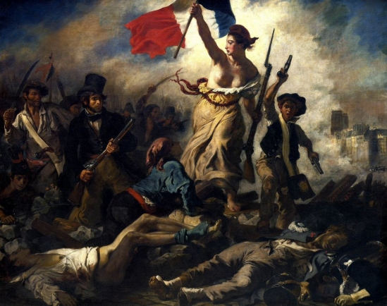 French Revolution, Liberty Leading the People, DelaCroix