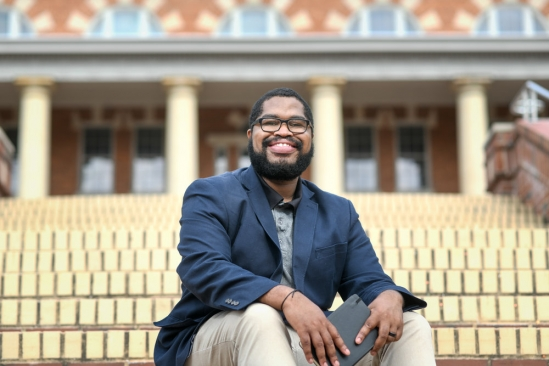 The Interdisciplinary Humanities Center selects poet Tyree Daye as the 2019 Raab Writer in Residence
