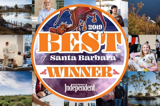 UC Santa Barbara voted the best place to work in the Santa Barbara Independent's Best Of poll