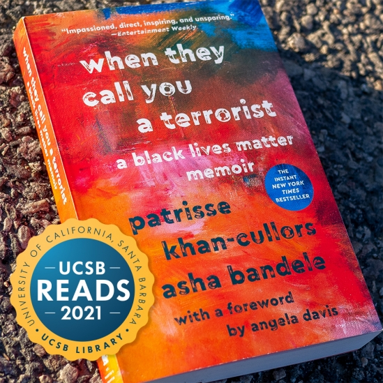 When They Call You a Terrorist cover with UCSB Reads badge