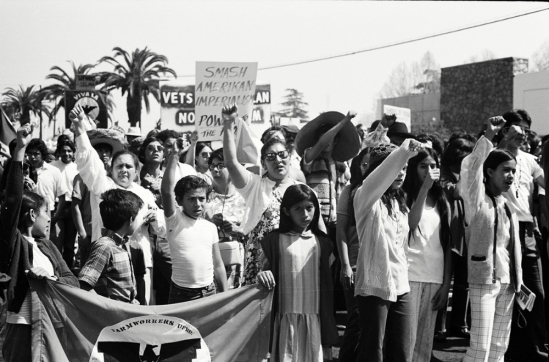 United Farm Workers protest