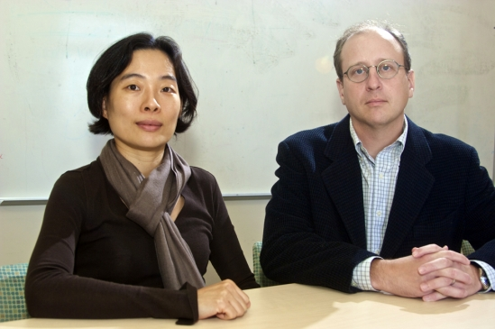 Heejung Kim and David Sherman