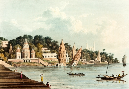 Illustrations like the one here, made by Lieutenant-Colonel Charles Ramus Forrest, demonstrate the British penchant for depicting India as a civilization in a state of decay.