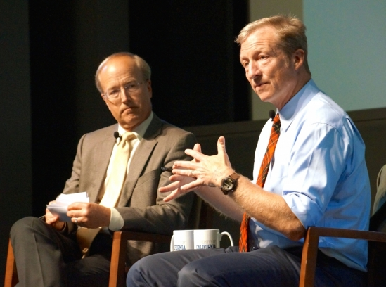 Tom Steyer and John Bowers