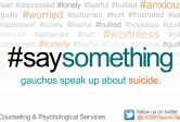 #saysomething logo
