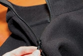 fleece jacket closeup