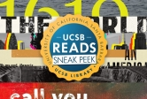 UCSB Reads 2021 Sneak Peek graphic