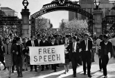 Free speech movement, Melissa Barthelemy