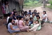 Tsimane, women, children