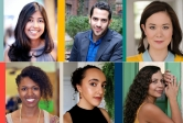 playwrights from UCSB's BIPOC Reading Series Festival