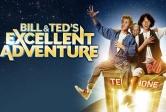 Color promo poster for Bill & Ted's Excellent Adventure