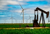 oil pump and wind mills