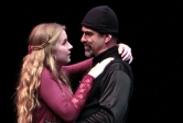 Macbeth and Lady Macbeth, played by Jeff Mills and BFA student Madelyn Robinson.