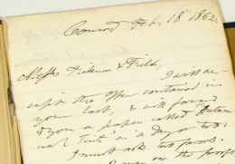 Letter from Thoreau