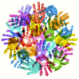 Hands - The Content of Our Cooperation, Not the Color of Our Skin