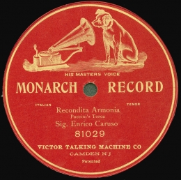 Enrico Caruso recording by Victor Talking Machine Company