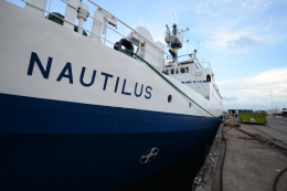 Exploration Vessel Nautilus - sideview