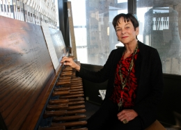 Margo Halsted at UCSB carillon