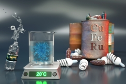 illustration of new photocatalyst for metal-free polymerization process