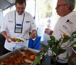 Chefs at UCSB for Pacific Chef Net 2015