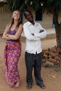 Amanda Larson served in the Peace Corps from 2014 to 2016