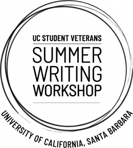 UC Student Veterans Summer Writing Workshop logo