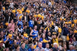 Crowd shot UCSB vs Cal Poly January 2019