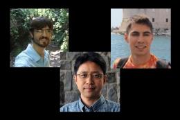 three UCSB junior faculty members