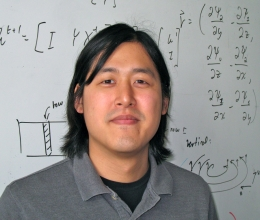 Theodore Kim, an assistant professor in UCSB's Media Arts and Technology Program