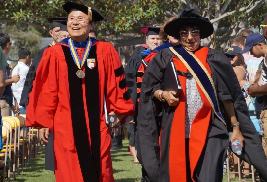 Chancellor and Chair of Academic Senate