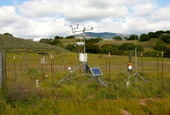 Airstrip climate monitoring station