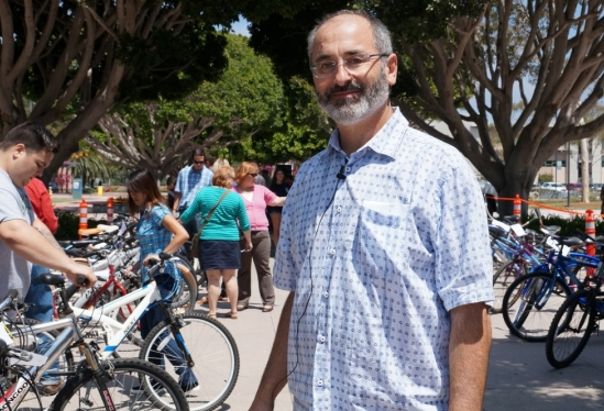 photo of James Wagner, bike sale coordinator