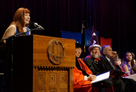 photo of CCS 2014 commencement student speaker