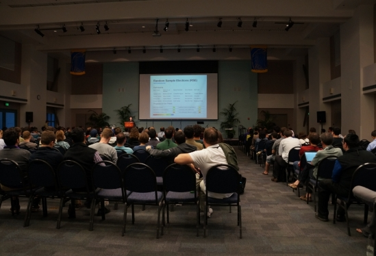 photo of 2014 IACR CRYPTO conference