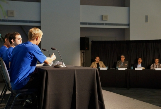 photo of Echo question and answer session