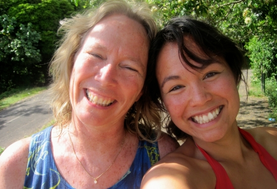 Peggy Fong and Caitlin Fong