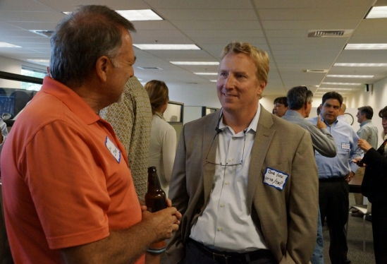 photo of Bob York at GEM open house