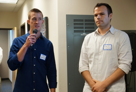 photo of co-founders of Uptronics