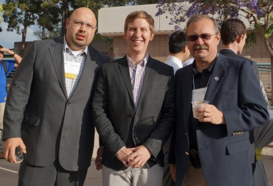 photo of representatives from the City of Goleta and ShadowMaps team member