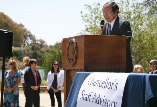 photo of Chancellor Yang