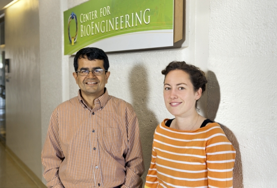 photo of Samir Mitragotri and Adele Doyle