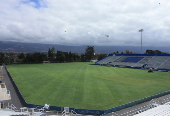 UCSB Harder Stadium field